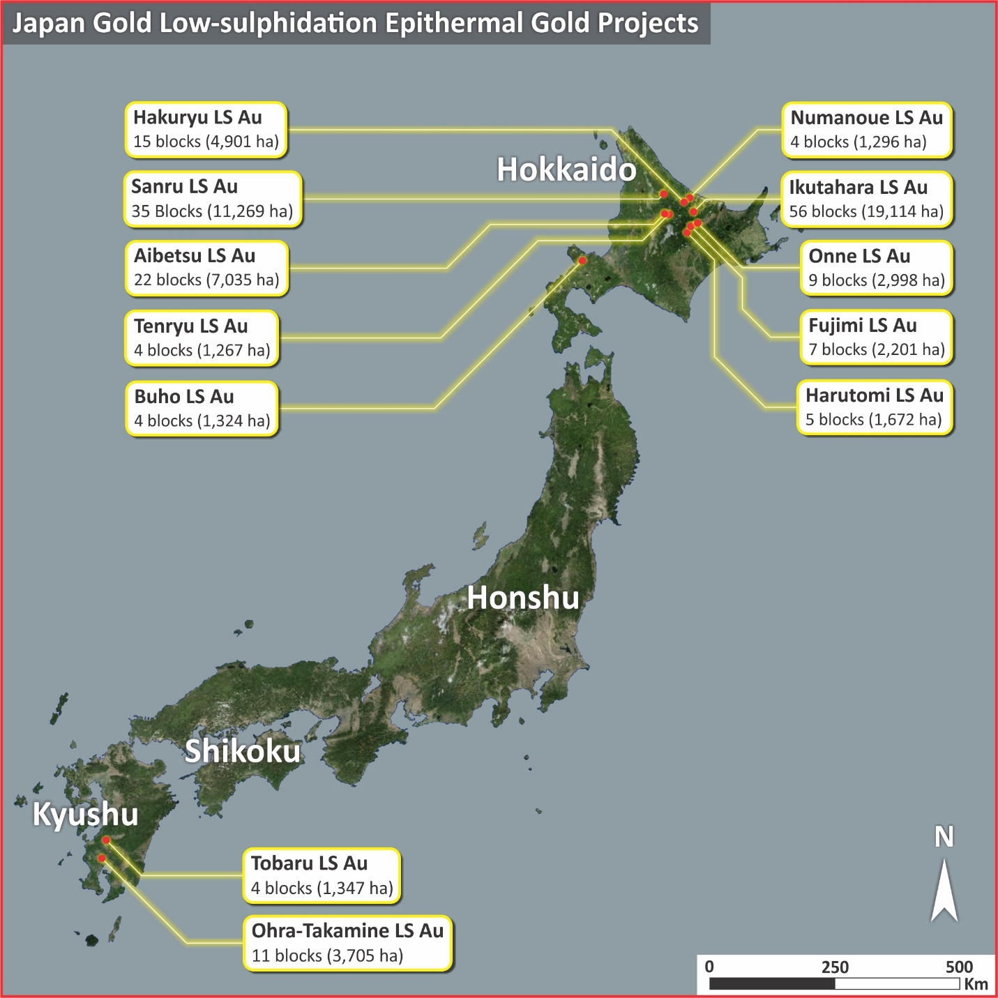 20171022 Japan Epithermal Gold Projects